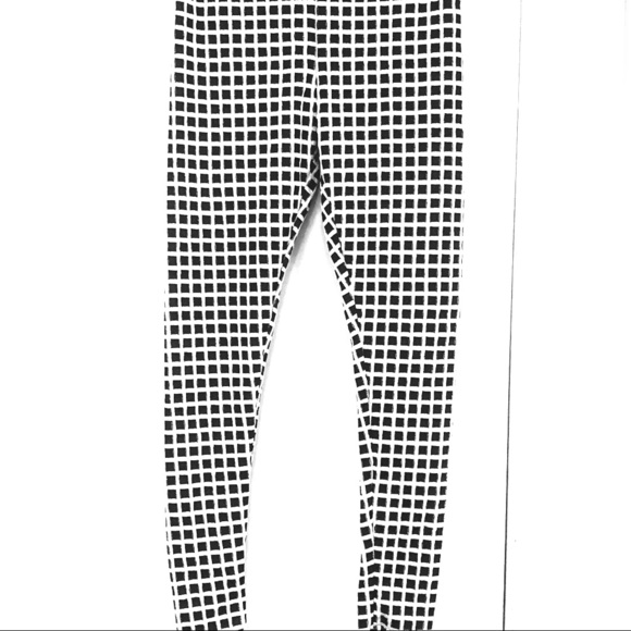 be5dffb57334e Pants | New Without Tags Black White Checkered Leggings | Poshmark